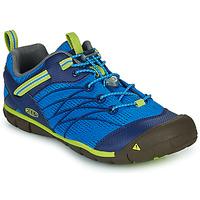 Shoes Boy Outdoor sandals Keen CHANDLER CNX Blue / Green