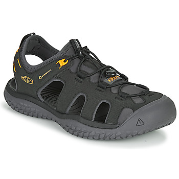 Shoes Men Outdoor sandals Keen SOLR SANDAL Black
