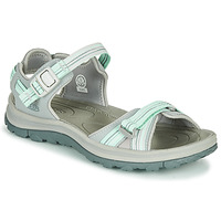 Shoes Women Outdoor sandals Keen TERRADORA II OPEN TOE SANDAL Grey / Green