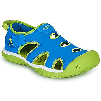 Shoes Children Outdoor sandals Keen STINGRAY Blue / Green