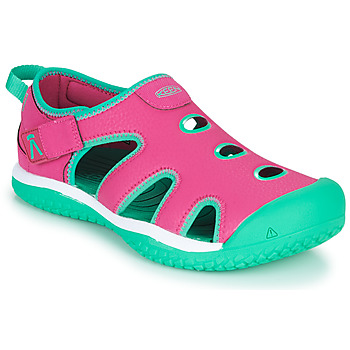 Shoes Girl Outdoor sandals Keen STINGRAY Purple / Blue