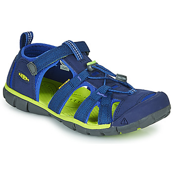 Shoes Children Outdoor sandals Keen SEACAMP II CNX Blue / Green