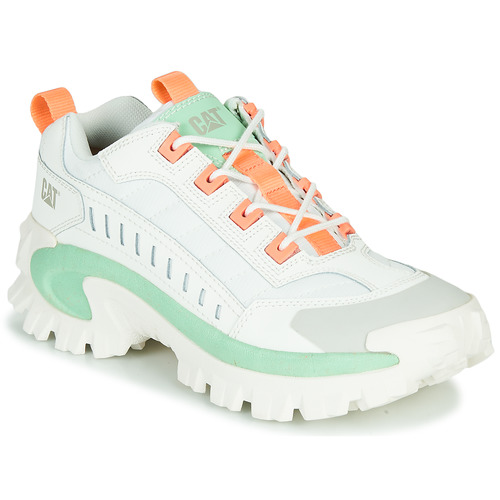 Shoes Men Low top trainers Caterpillar INTRUDER White / Green