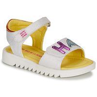 Shoes Girl Sandals Agatha Ruiz de la Prada SMILES White