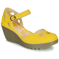 Shoes Women Sandals Fly London YUNA Yellow