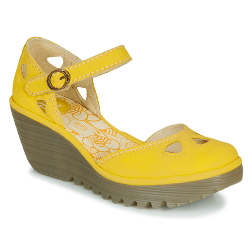Shoes Women Sandals Fly London YUNA Yellow