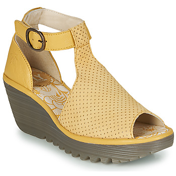 Shoes Women Sandals Fly London YALLS Yellow