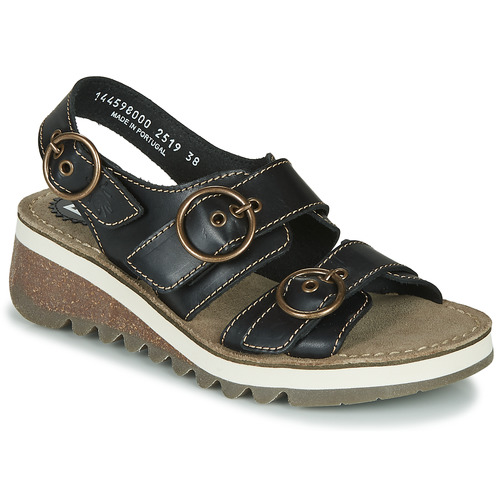 Shoes Women Sandals Fly London TEAR2 FLY Black