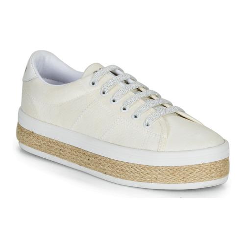 Shoes Women Low top trainers No Name MALIBU SNEAKER White