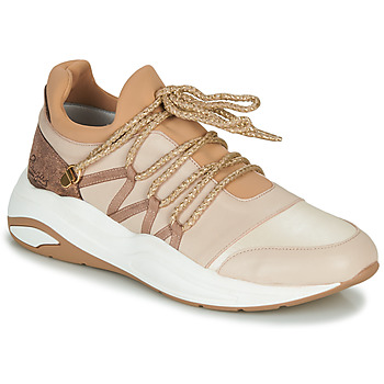 Shoes Women Low top trainers Pataugas FRANCESCA Camel
