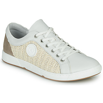 Shoes Women Low top trainers Pataugas JOHANA Ecru / Yellow