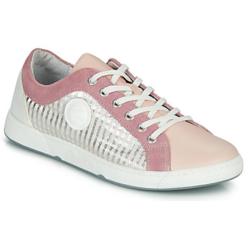 Shoes Women Low top trainers Pataugas JOHANA Pink / Nude