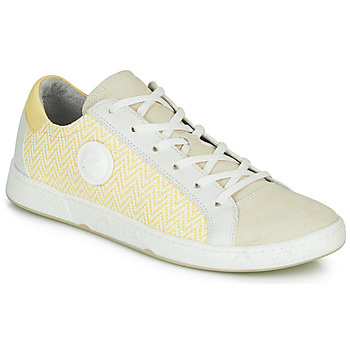 Shoes Women Low top trainers Pataugas JUNE/N Cream / Yellow