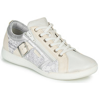 Shoes Women Low top trainers Pataugas PAULINE/S White / Silver