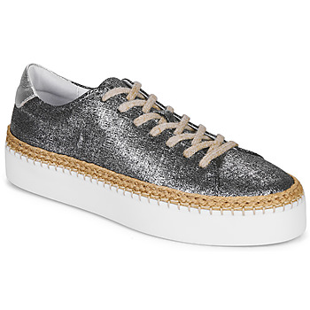 Shoes Women Low top trainers Pataugas SELLA/T Black / Iris