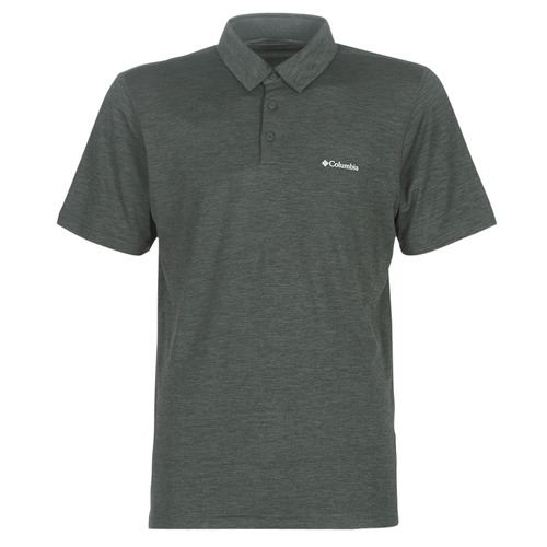 Clothing Men short-sleeved polo shirts Columbia TECH TRAIL POLO Grey
