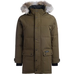 Clothing Men Parkas Canada Goose Parka Emory army green with hood Green