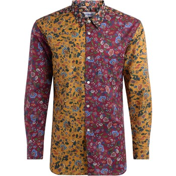 Clothing Men long-sleeved shirts Comme Des Garcons Regoular fit shirt in multicolor Multicolour