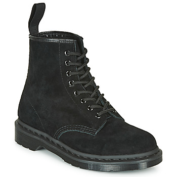 Shoes Mid boots Dr Martens 1460 MONO SOFT BUCK Black