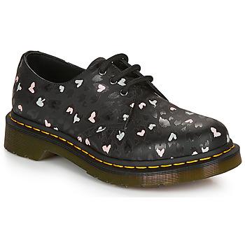 Shoes Women Derby Shoes Dr Martens 1461 HEARTS Black