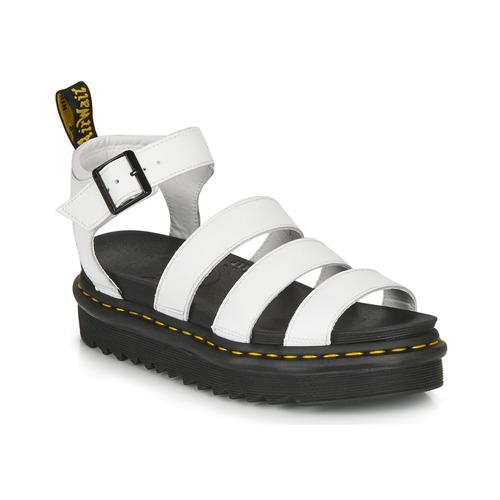 Shoes Women Sandals Dr Martens BLAIRE HYDRO White