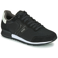 Shoes Men Low top trainers BOSS PARKOUR RUNN NYMX2 Black