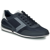 Shoes Men Low top trainers BOSS SATURN LOWP ACT4 Marine