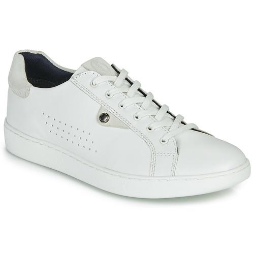 Shoes Men Low top trainers Base London BUZZ White