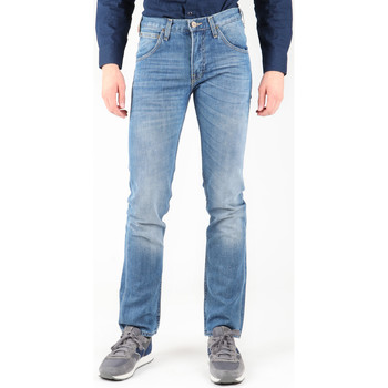 Clothing Men Straight jeans Lee Zed L717CRBP blue