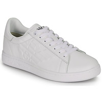 Shoes Men Low top trainers Emporio Armani EA7 CLASSIC NEW CC White
