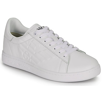 Shoes Low top trainers Emporio Armani EA7 CLASSIC NEW CC White