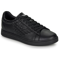Shoes Men Low top trainers Emporio Armani EA7 CLASSIC NEW CC Black