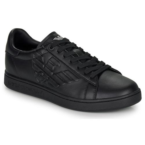 Shoes Low top trainers Emporio Armani EA7 CLASSIC NEW CC Black