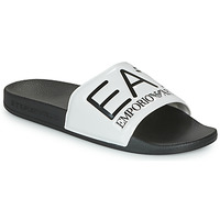 Shoes Tap-dancing Emporio Armani EA7 SEA WORLD VISIBILITY SLIPPER Black / White