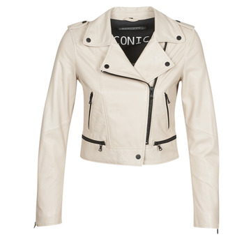Clothing Women Leather jackets / Imitation leather Oakwood YOKO Ivory