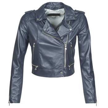 Clothing Women Leather jackets / Imitation leather Oakwood YOKO Marine