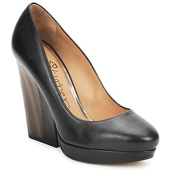 Shoes Women Heels Eva Turner CANIO Black