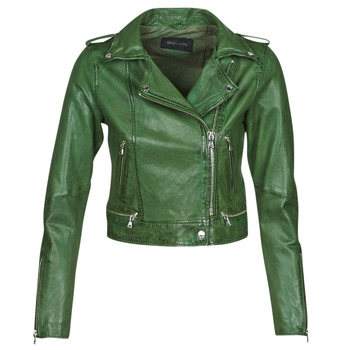 Clothing Women Leather jackets / Imitation leather Oakwood KYOTO Green