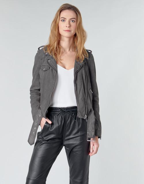 Oakwood PLEASE Grey - Free delivery  ! - Clothing Leather jackets / Imitation leather Women   170.40