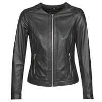 Clothing Women Leather jackets / Imitation leather Oakwood MICHELLE Black