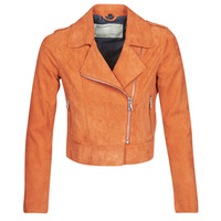 Clothing Women Leather jackets / Imitation leather Oakwood KEREN Rust