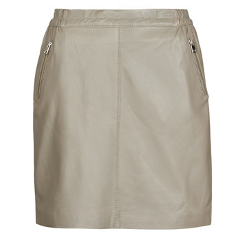 Clothing Women Skirts Oakwood PHOEBE Taupe