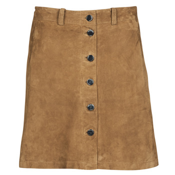 Clothing Women Skirts Oakwood KEREN Cognac