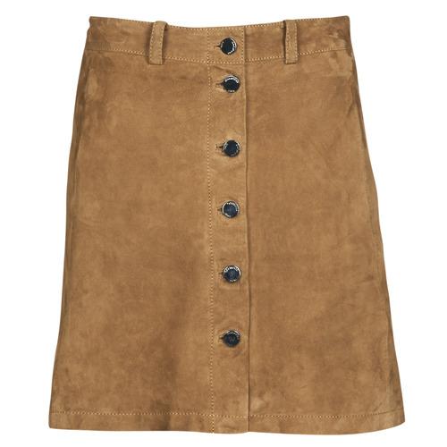 Clothing Women Skirts Oakwood KEREN Cognac