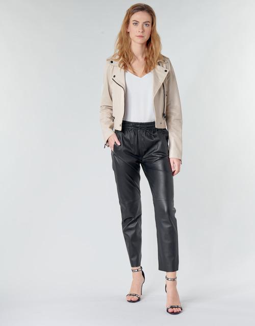 Clothing Women 5-pocket trousers Oakwood GIFT Black