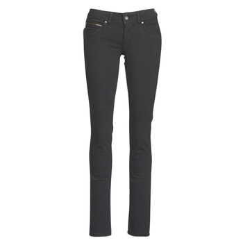 Clothing Women 5-pocket trousers Pepe jeans NEW BROOKE Black