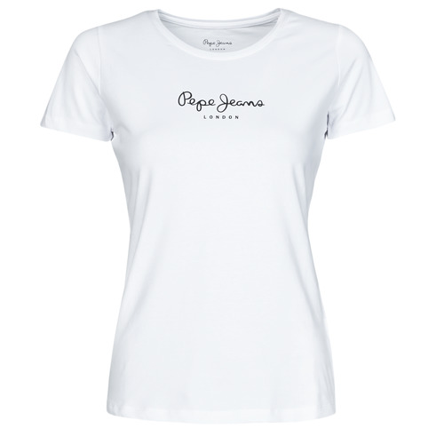 Clothing Women Short-sleeved t-shirts Pepe jeans NEW VIRGINIA White