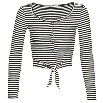 Clothing Women Tops / Blouses Pepe jeans FALBALA Black