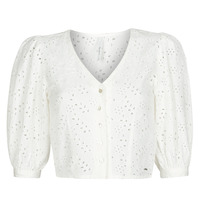 Clothing Women Tops / Blouses Pepe jeans CLAUDIE White