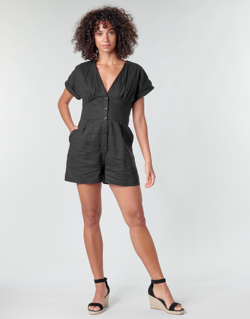 Clothing Women Jumpsuits / Dungarees Pepe jeans SHERGIA Black